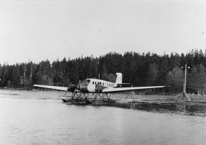"The ""mail plane"" ABA S-AABG on the route Stockholm - Helsinki at Lindarängen around in 1935."